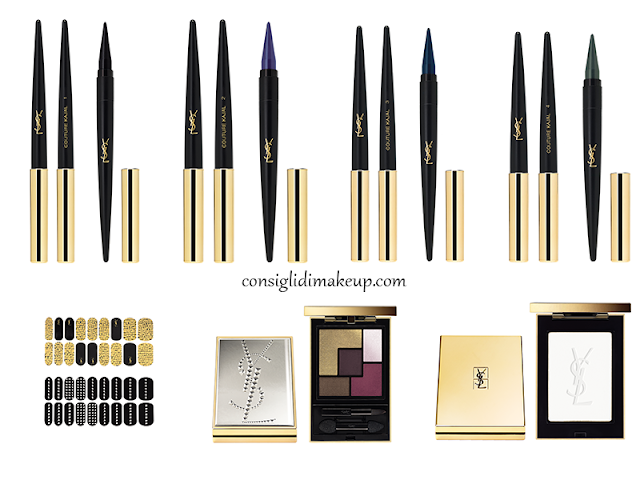 collezione pretty metals yves saint laurent