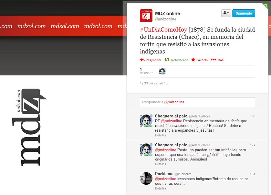 Adán De Ucea: El Bartolomitweet del Día: MDZ online y el Aniversario ...