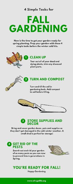 Rhiana reports 4 simple gardening tasks for fall - Fall gardening tasks ...