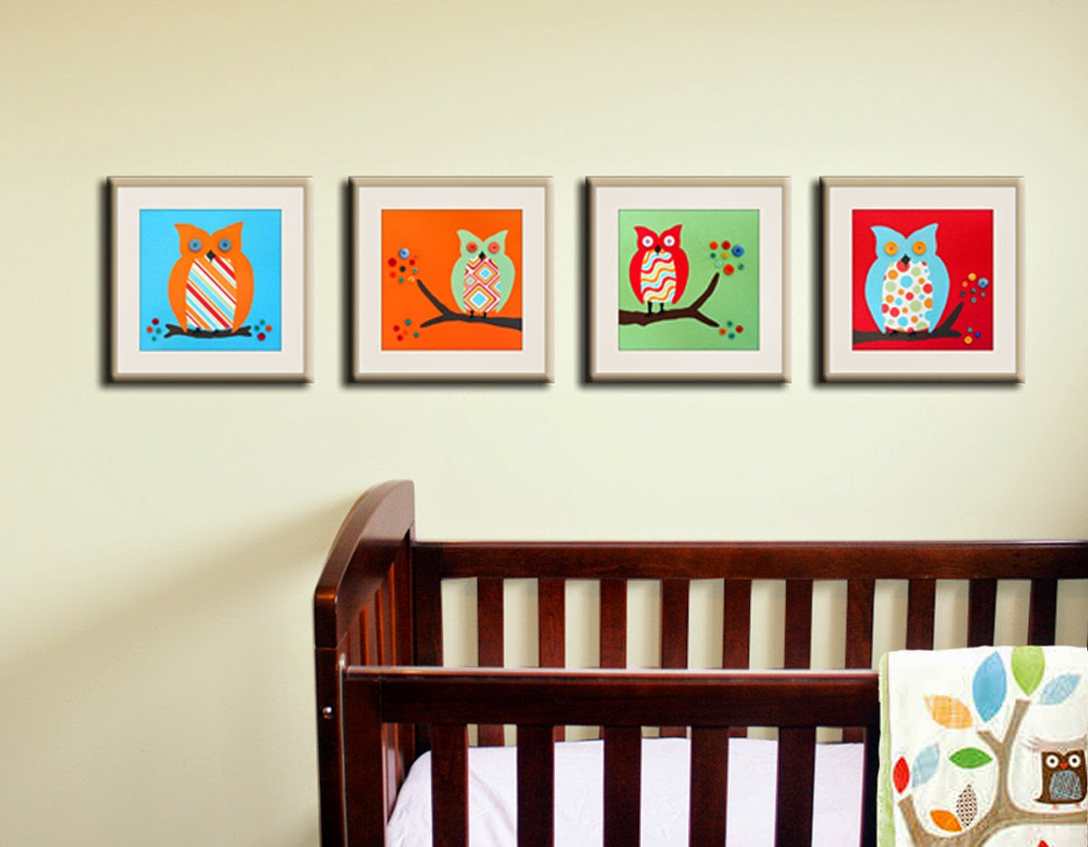 Nursery Paint Colors Hoot Frames