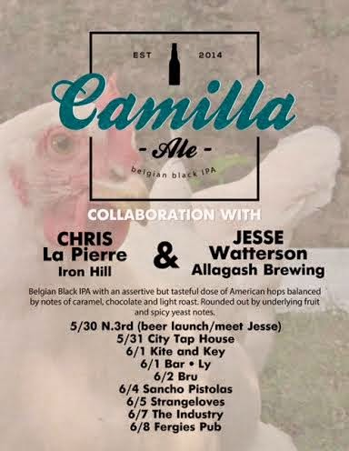 Where can you find Iron Hill/Allagash collab during Philly Beer Week?