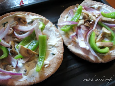 whole wheat pita pizza recipe