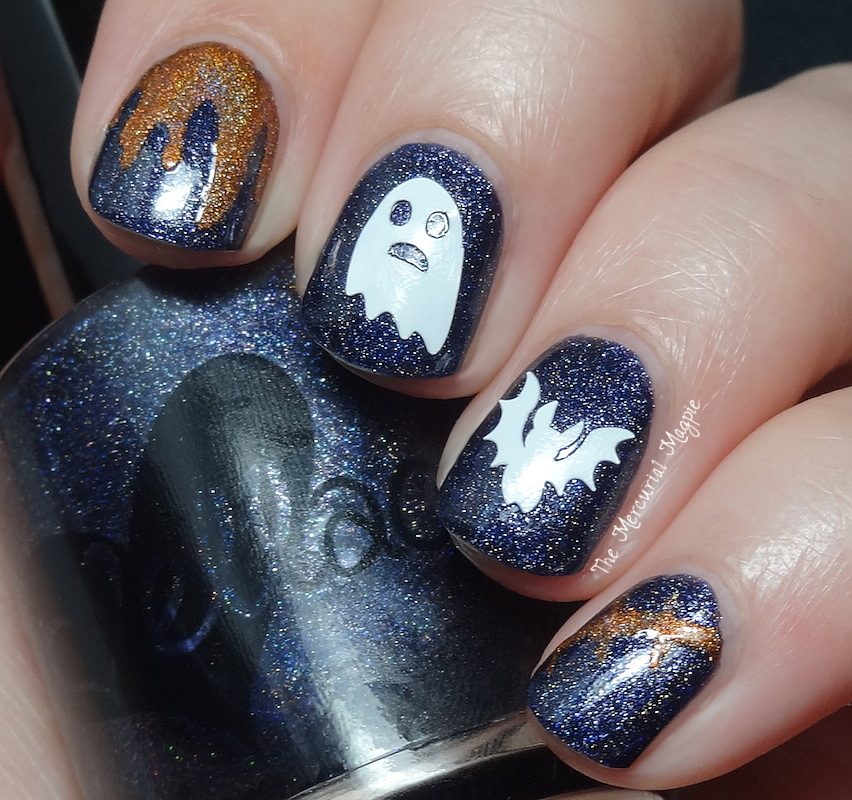 Cover Me ! Nail Art Halloween Decals/Vinyls Review