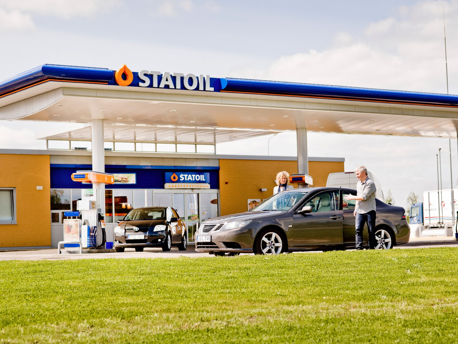 Illustrasjonsbilde av bensinstasjon