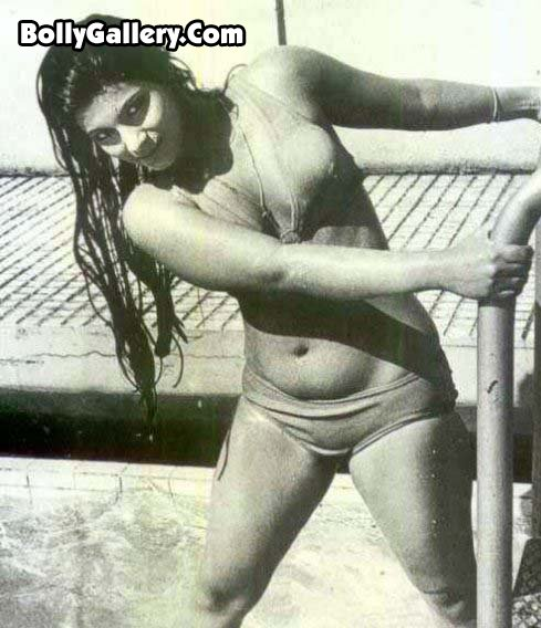 Dimple + kapadia + hot bikini