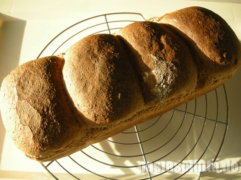 Vollkorn Toast nach der 4-Pieces Methode
