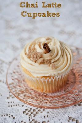 Healthy in Prague: Vegan Gluten-free Chai Latte Cupcakes