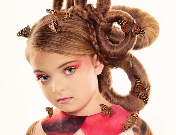 Little Girls Hairdos: Halloween Hairstyles for Girls - Little Girl Halloween Makeup