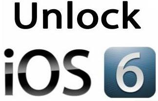 Unlock iOS 6