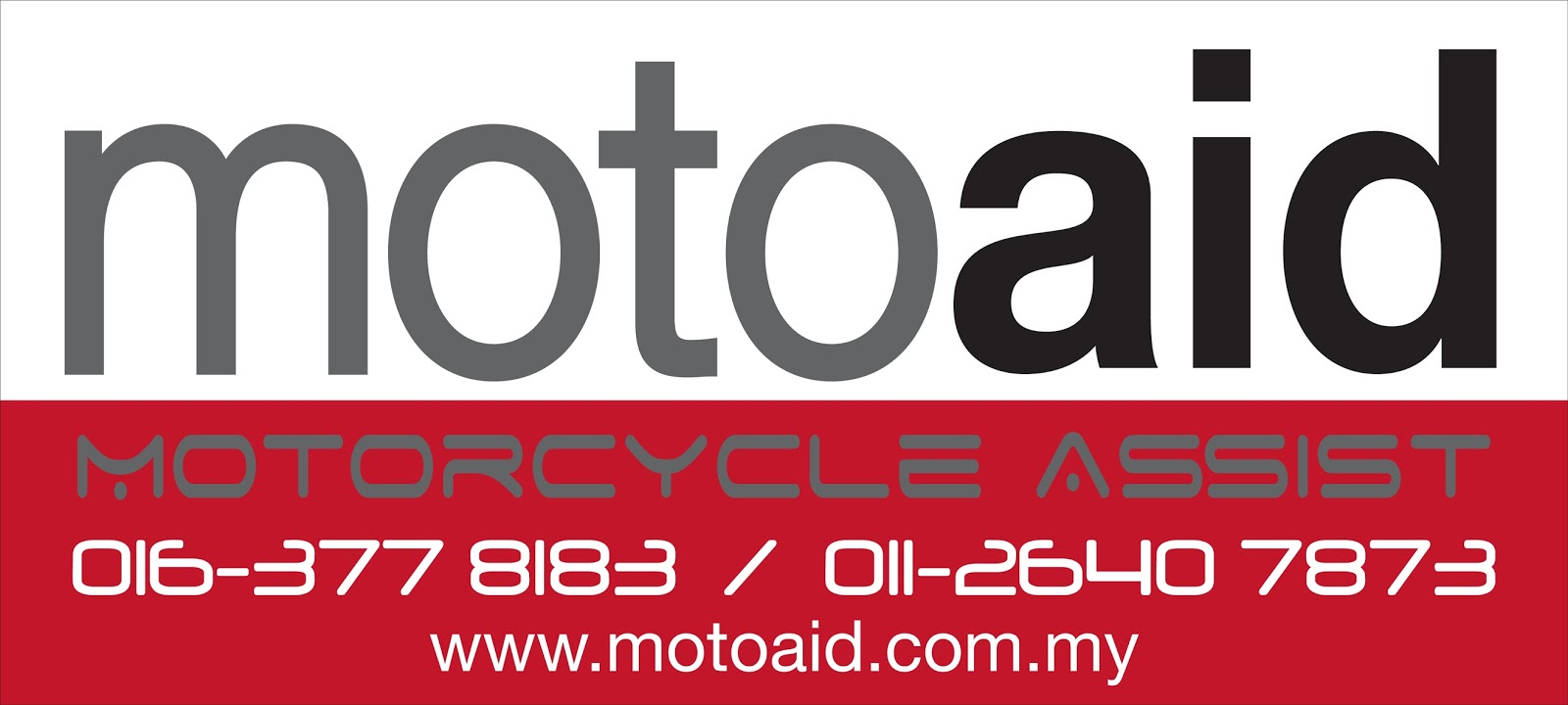 MotoAid Sticker 40x18 2015