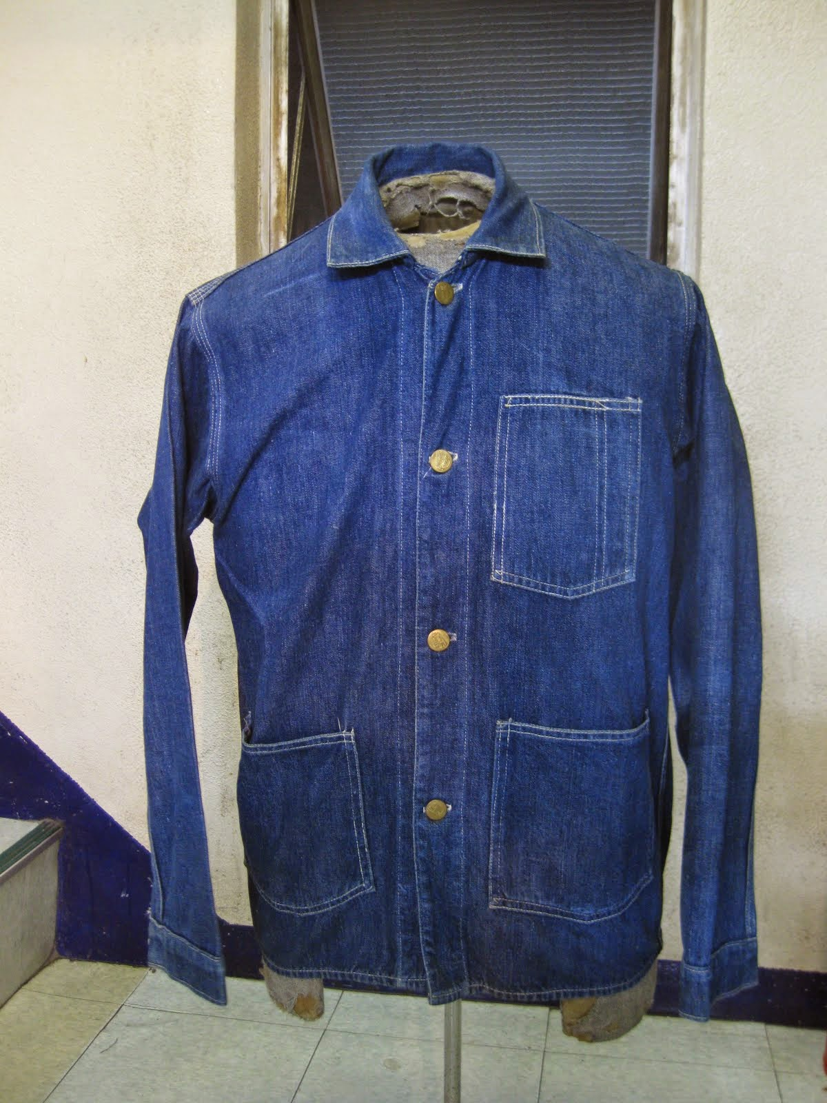 ~30's RAIL ROADER JACKET                SIZE:34~36