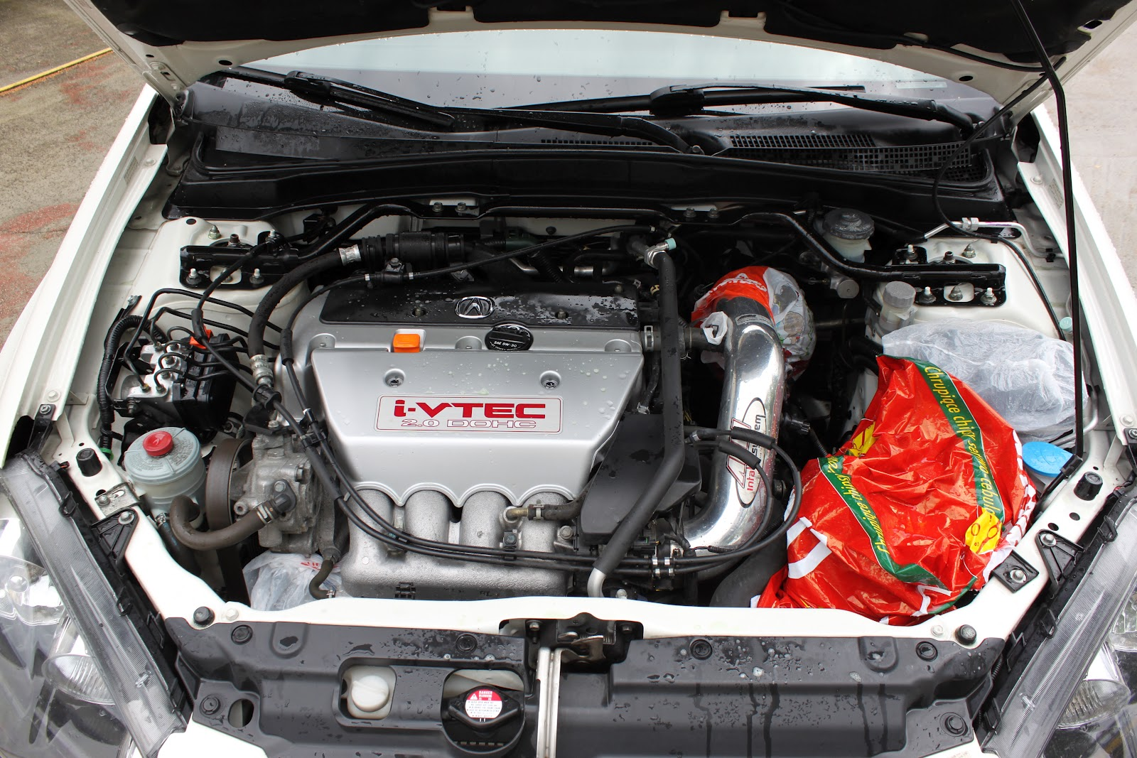 Acura RSX TypeS Honda Integra DC How To Clean Engine Bay In - Acura rsx type s engine