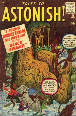 Tales to Astonish, Monstrom