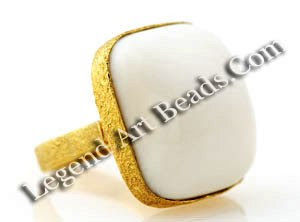 White Coral Ring