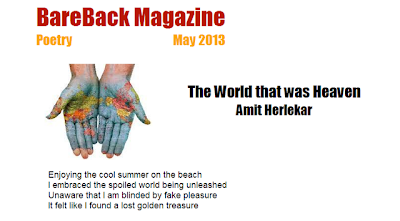 BareBack Poetry May 2013