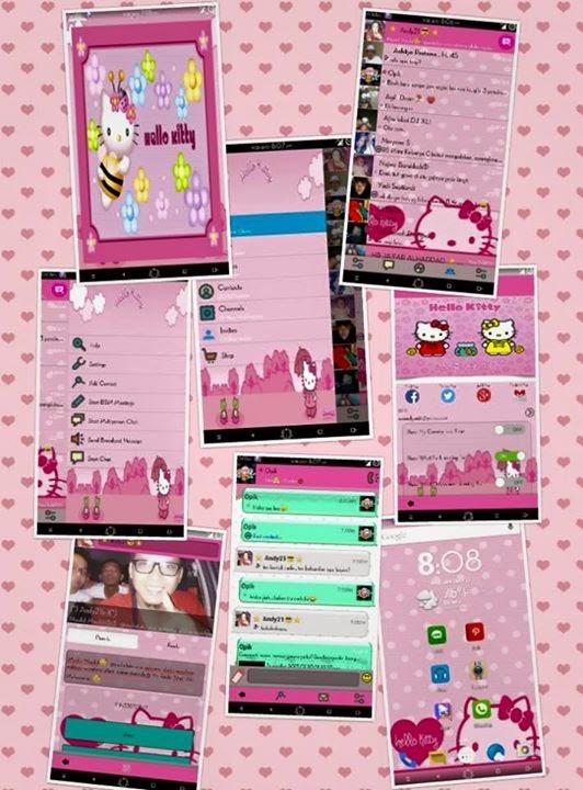 BBM Mod Hello Kitty Terbaru v2.6.0.30
