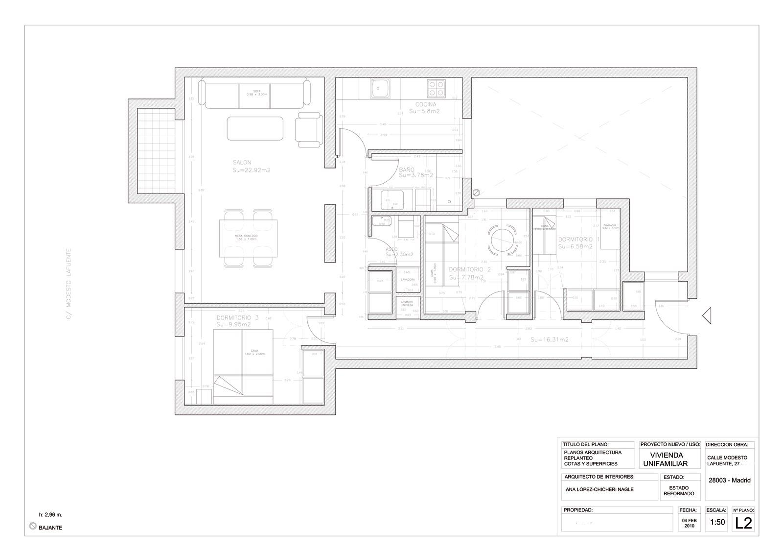 Arquitecto de interiores madrid stunning locales - Reforma integral piso madrid ...