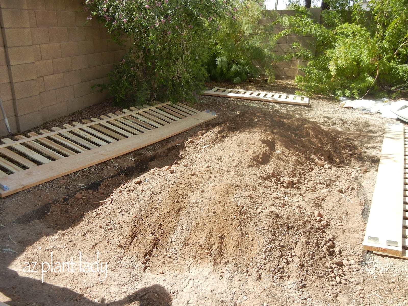 New Vegetable Garden Finally Finished! - Ramblings from a Desert Garden