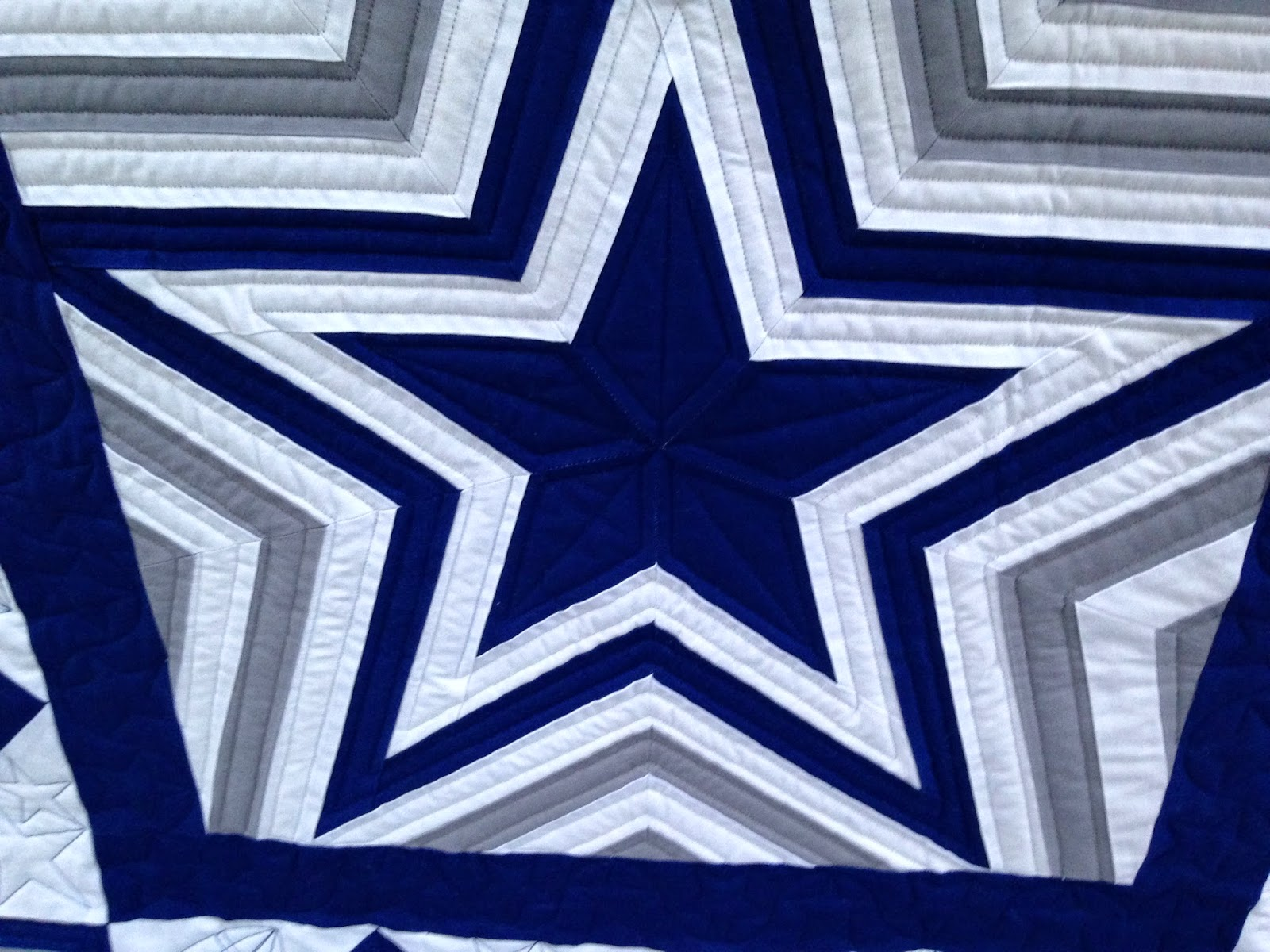 Dallas Cowboys Quilting Eye Candy | The Quilting Queen Online : cowboy quilt - Adamdwight.com