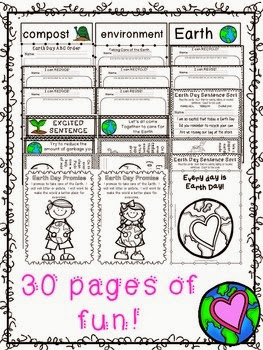http://www.teacherspayteachers.com/Product/Hooray-for-Earth-Day-A-Mini-Language-Pack-612485
