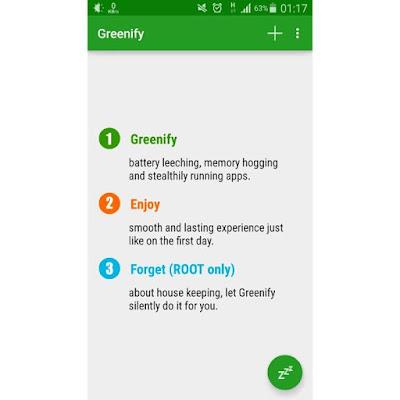 cara install greenify