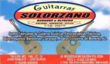 Guitarras Solorzano