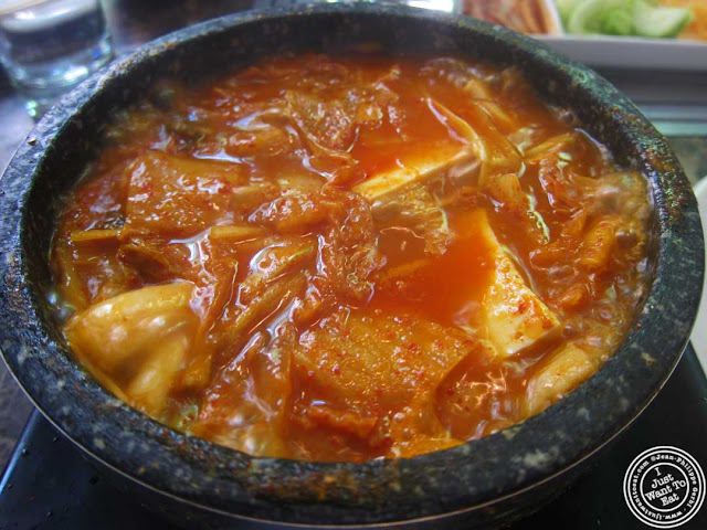 image of kimchi chi ge at Bann Korean restaurant in NYC, New York