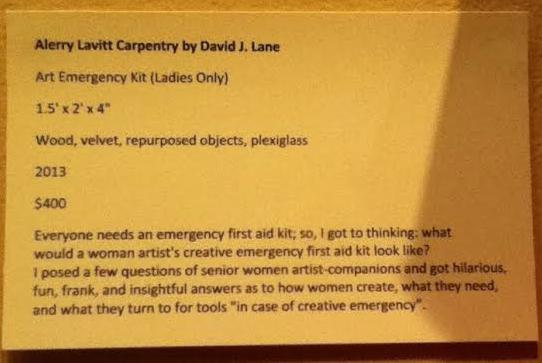 Taryn Wichenko's blog: Creative Emergency Kit (Personal ...