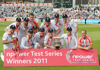 England Test Team