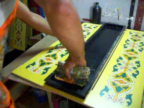 طرق الطباعة اليدوية