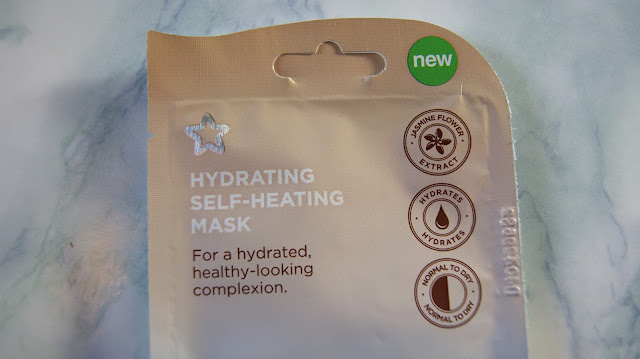 Superdrug Hydrating Self-Heating Mask