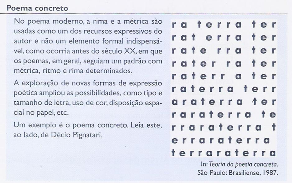 Populares Verso, estrofe e outros elementos do poema ~ Tudo Sobre Redação OR45