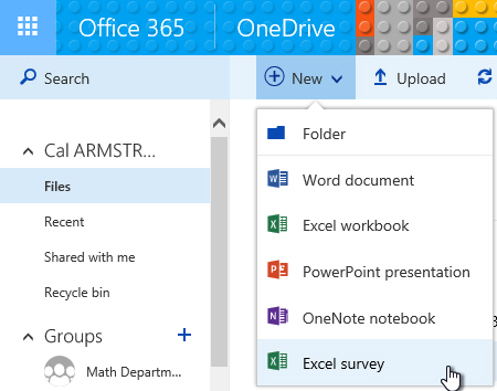 Auto-Grading An Office365 Excel Survey Assessment