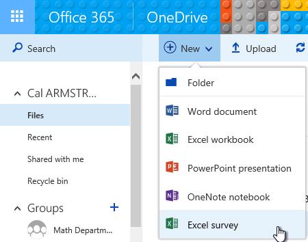 Auto-Grading An Office365 Excel Survey Assessment