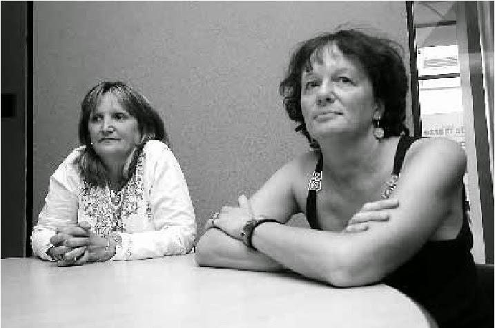 Anatilde Bugna y Patricia Traba, querellantes en la causa Brusa.