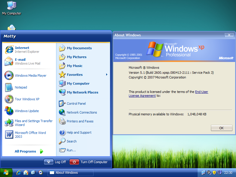 Update Microsoft postpones release of Windows XP SP3