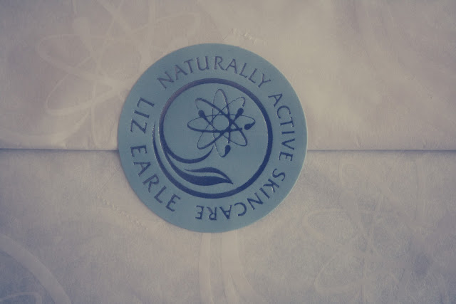 Liz Earle product packaging