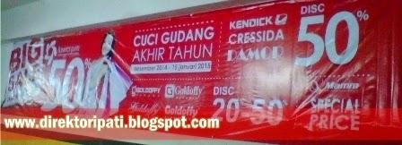Promo Luwes Pati Terbaru Cuci Gudang Diskon 50%