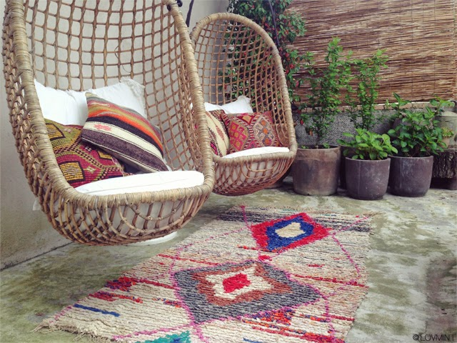 tapis boucherouite vintage ©lovmint
