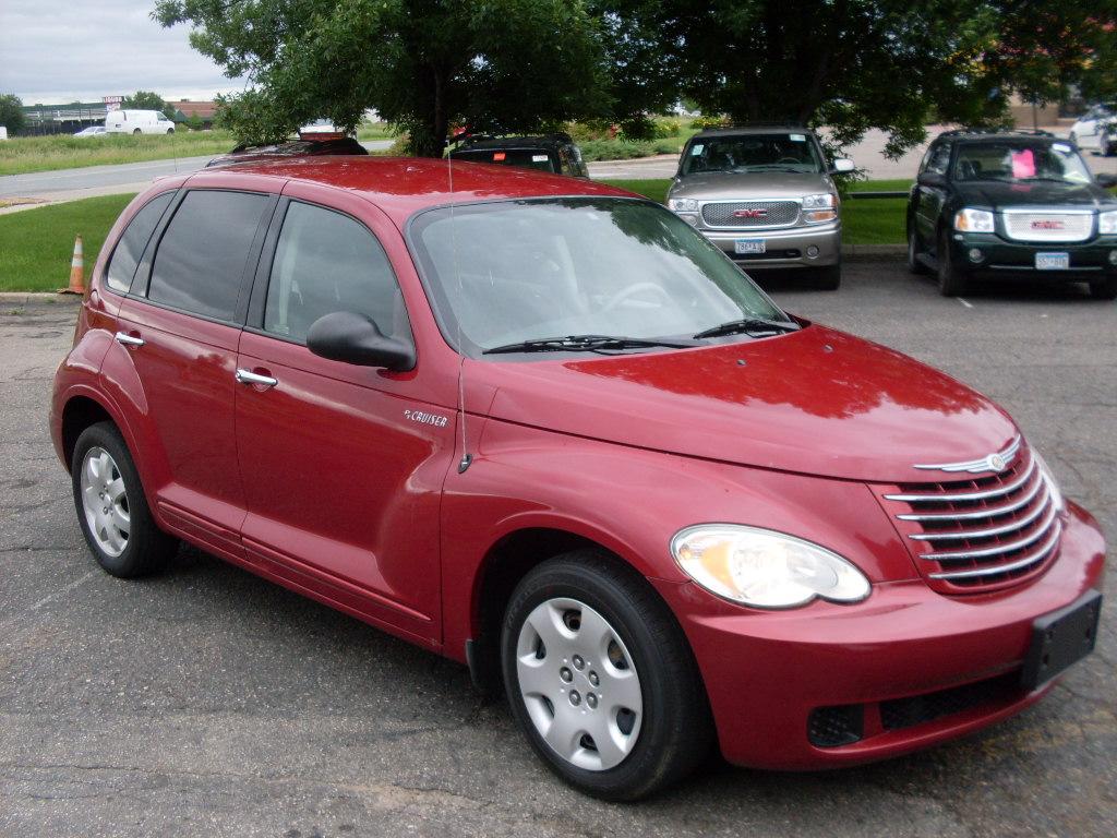 Ride Auto 2006 Pt Cruiser Red 2