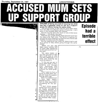 ACCUSED MUM SETS UP SUPPORT GROUP