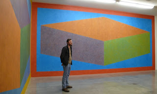 Sol Le Witt LA Gallery Wall drawing