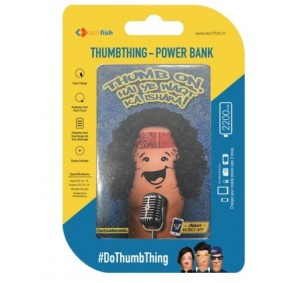 Buy DoThumbthing Pocket Power Banks 2200 mAh Starts From Rs. 199  at FLipkart