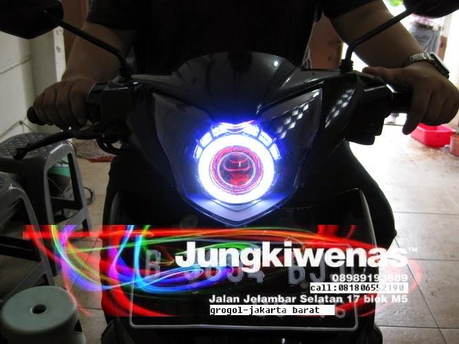 Juragan Lampu Projie Hid Aes Led Headlamp Projector Hid