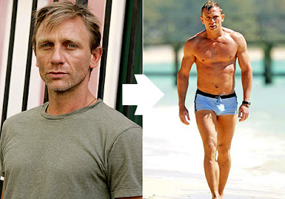 DANIEL CRAIG JAMES BOND HAIR STYLE
