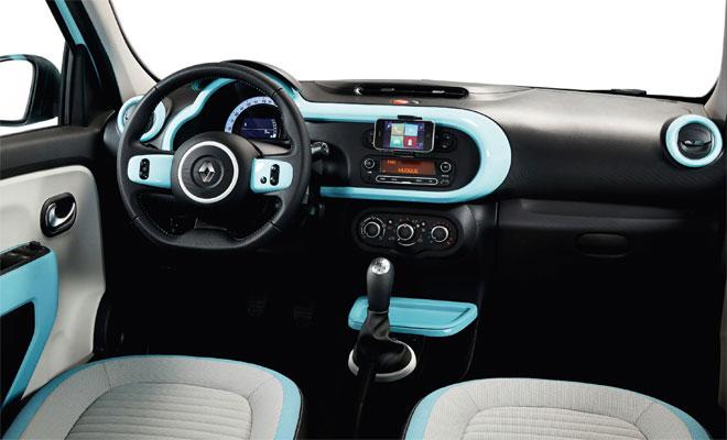 2014 Renault Twingo interior