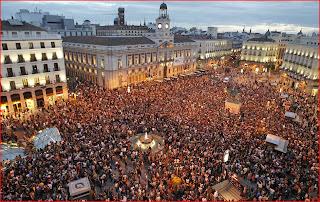 Plaza del Sol, Madrid. 15M
