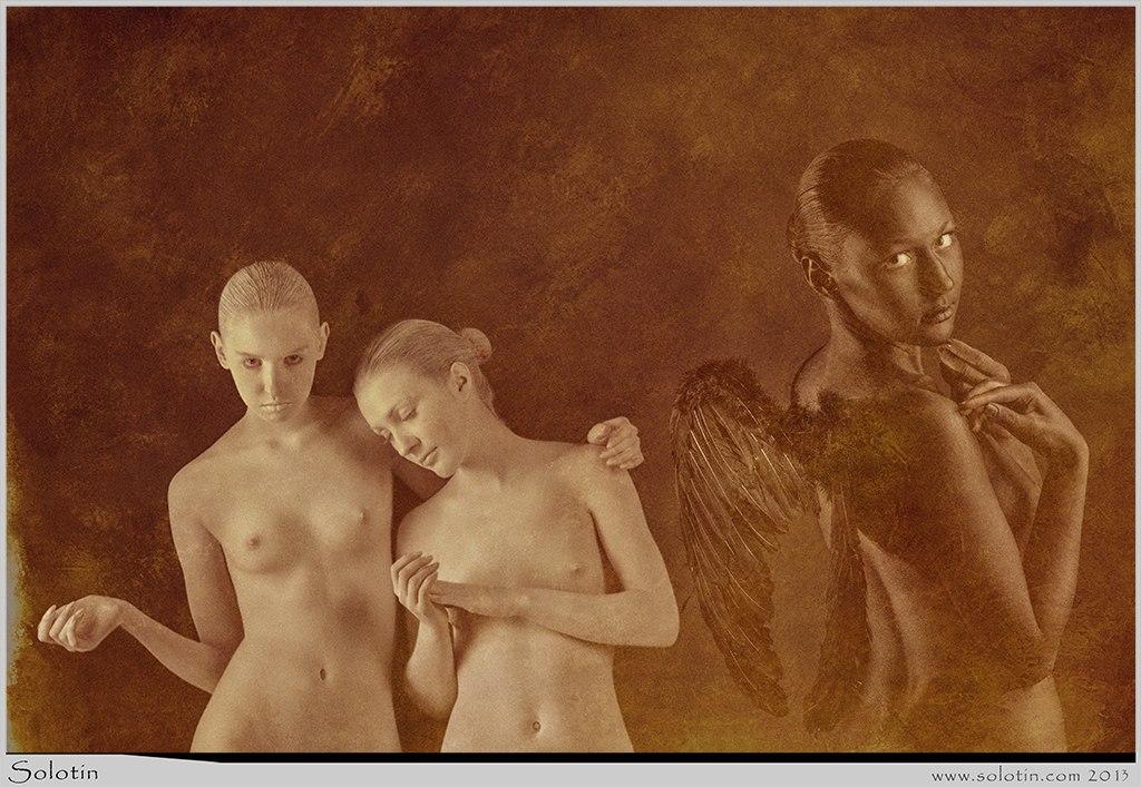 ангел, девушки, ню, обнаженные, эротика, фотосессия, Тамбов