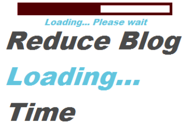 Reduce Blog Loading Time