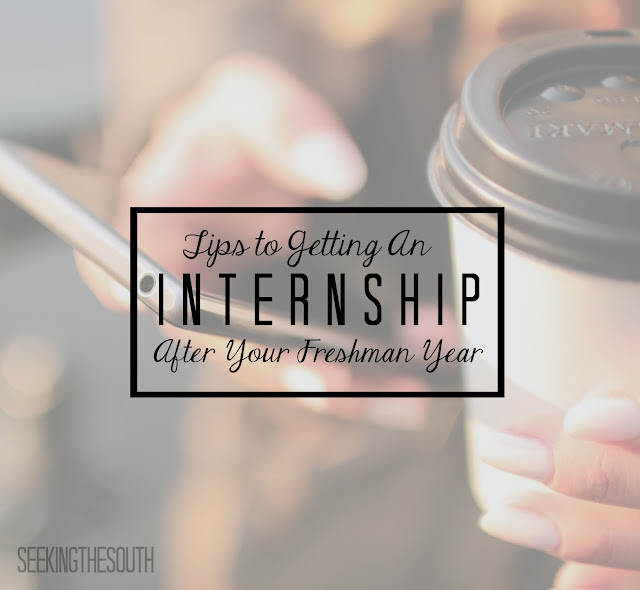 How to Get an Internship After Your Freshman Year